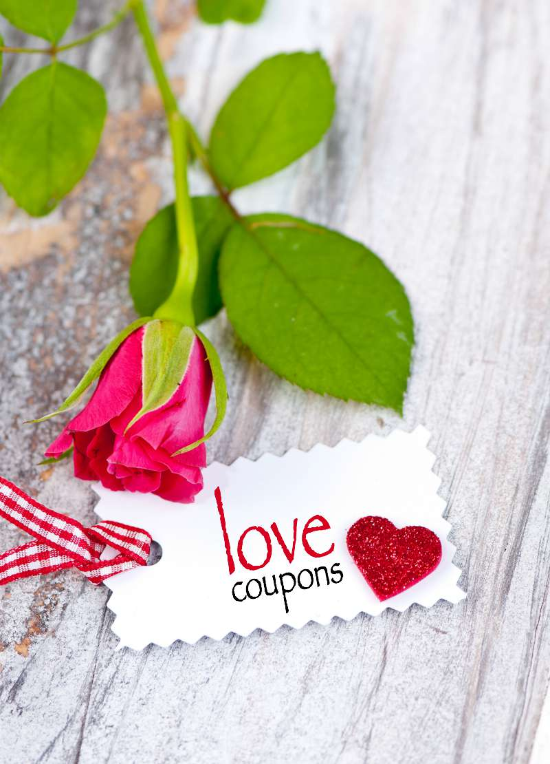 Romantic coupon book ideas. Perfect for the traditional first anniversary gift of paper. #bestanniversarygift