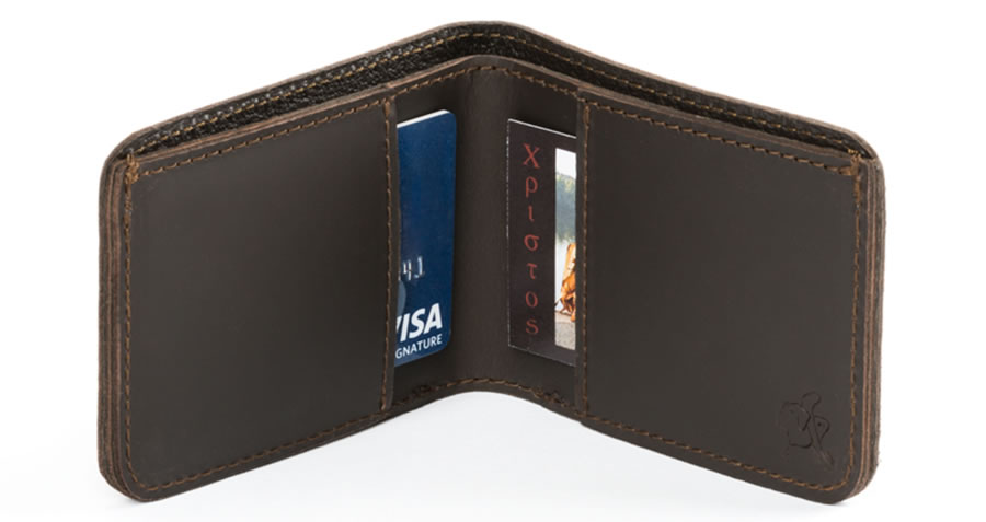 Classic Bifold Leather Wallet Small - from Saddleback