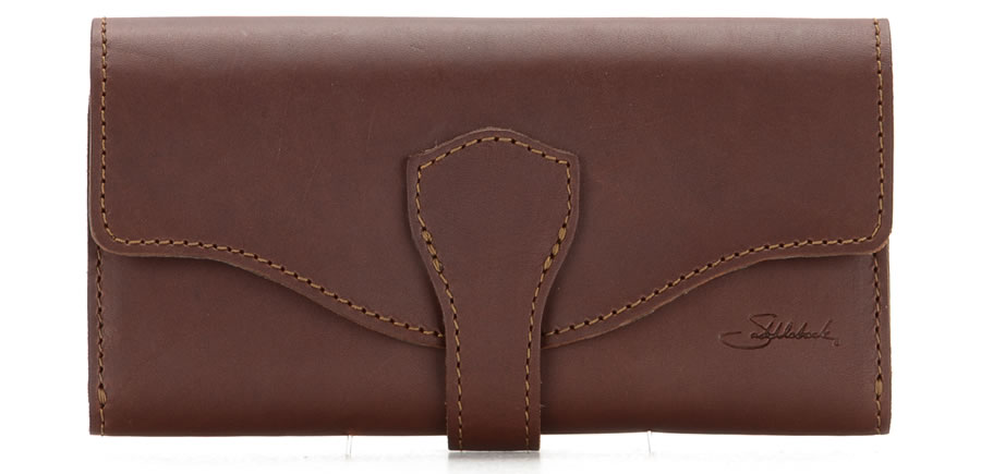 Classic Long Trifold Wallet - from Saddleback