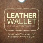 Saddleback Leather Wallet - Great anniversary gift idea for a man or a woman!